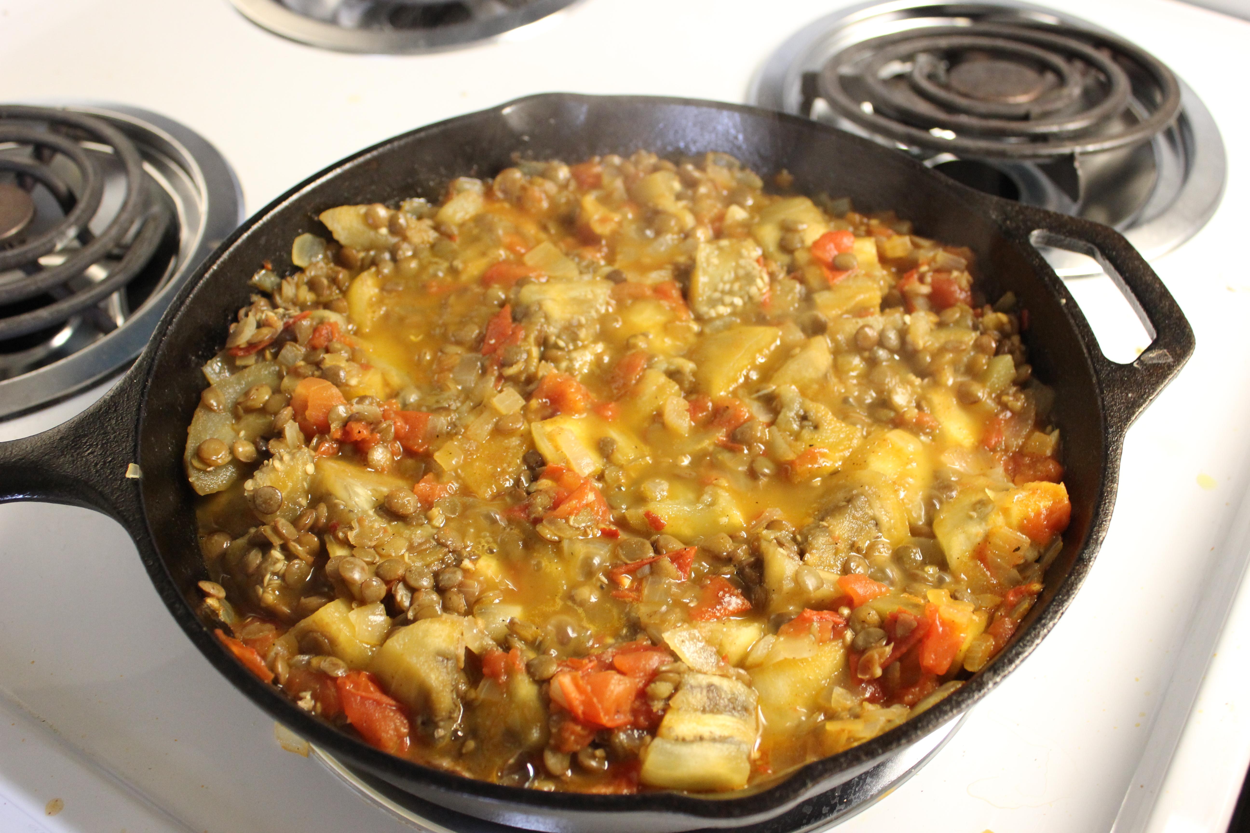 Рагу из баклажанов и мяса рецепт